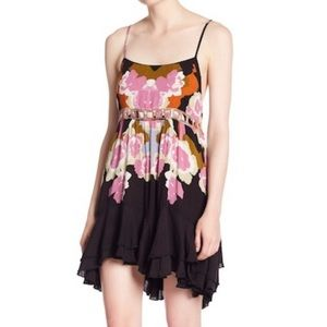 Free People NWT Sweet Lucy Slip Strappy Dress Med